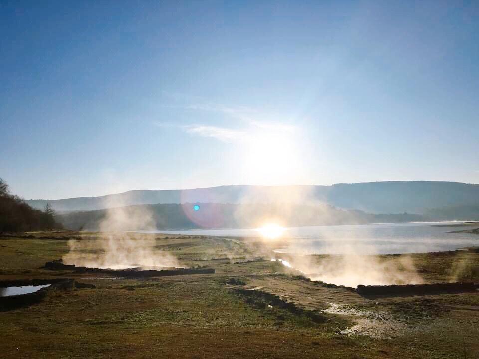 hot spring spain