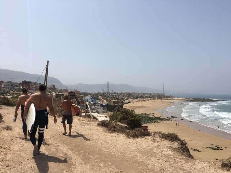Imsouane surf イムスアナサーフィン モロッコ