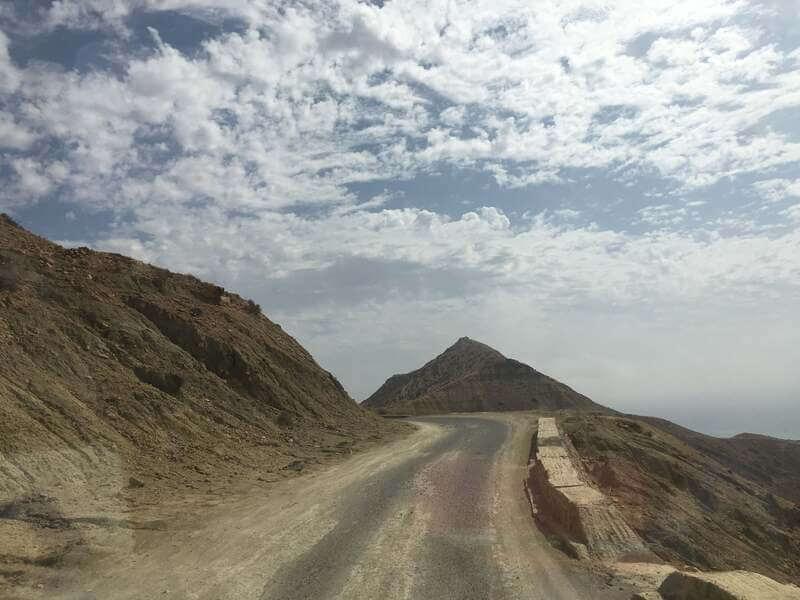 road to Imsouane イムスアナ 道